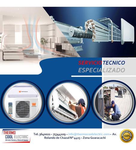 Imagen 1 de 6 de Servicio Técnico En Aires Acondicionados