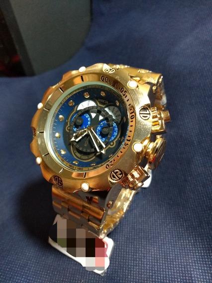 Relógio Invicta Másculo Top De Linha Luxo Com Caixa