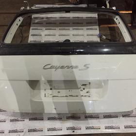 Tampa Traseira Porsche Cayenne 2008 Original Sem Recuperado
