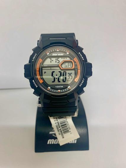 Relógio Mormaii Unissex Preto Mo0500ab/8l