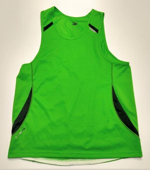 Musculosa Running Americana Hind Verde Talle Xl