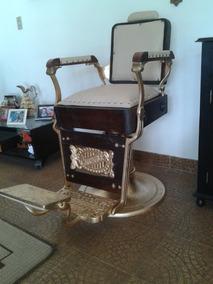 Cadeira De Barbeiro Irmãos Campanile Restaurada