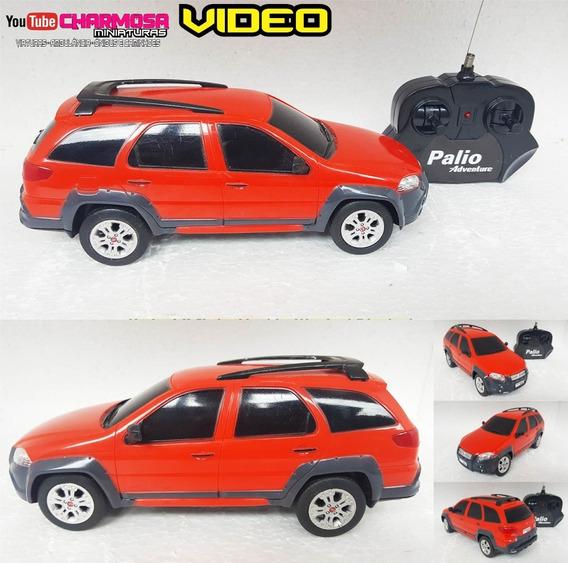 Carro Controle Remoto Miniatura Palio Weekend 1/18 23cm