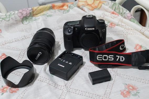 Canon 7d (só O Corpo) + Frete Grátis
