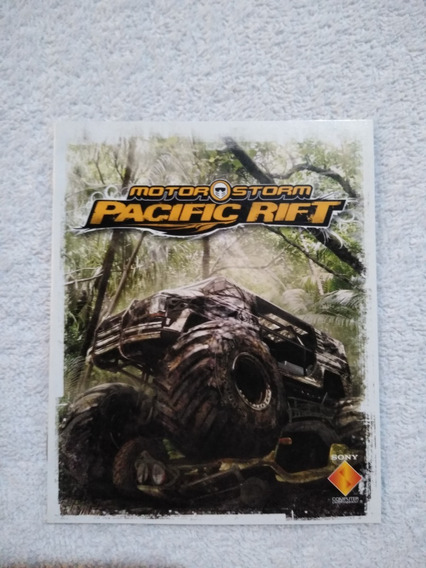 Manual Do Game Motor Storm Pacific Rift Ps3 ** Leia
