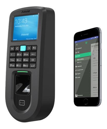 Control Horario Reloj Acceso Biometrico Huella Anviz Vf30-id