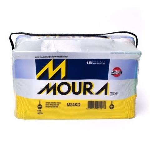 Imagen 1 de 2 de Bateria M24kd Moura 75 Amperes 12v