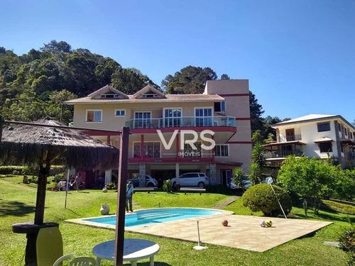 Imagem 1 de 29 de Casa Com 10 Dormitórios À Venda, 319 M² Por R$ 1.980.000,00 - Carlos Guinle - Teresópolis/rj - Ca0337