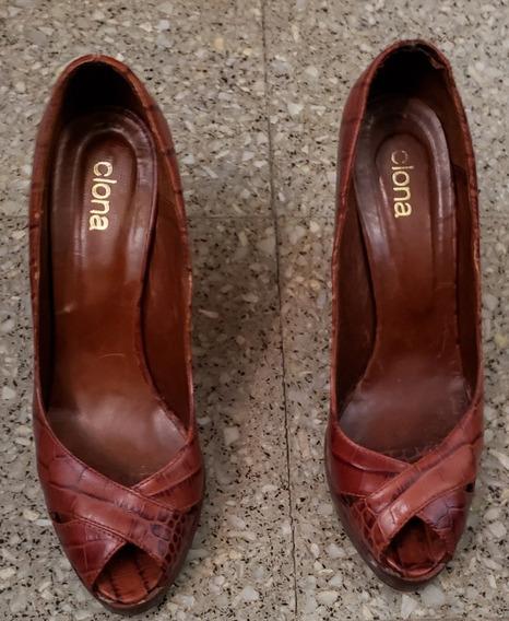 Zapatos Boquita De Pez