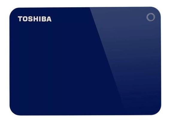 Disco rígido externo Toshiba Canvio Advance HDTC910X 1TB azul