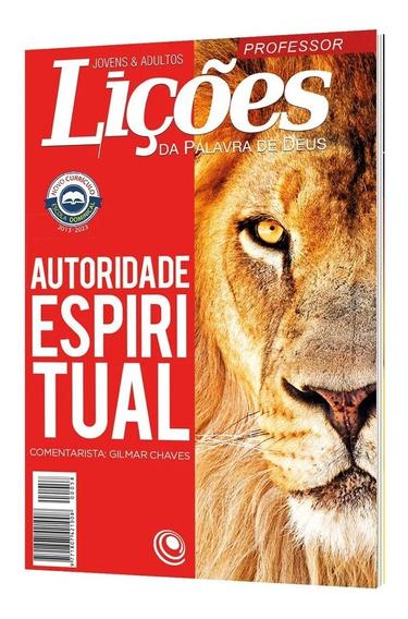 Revista Escola Bíblica Dominical - Nº 58 / Professor