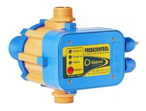 Control Automatico Bomba De Agua Press Presostato Gianni Tyt