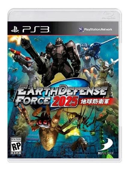 Earth Defense Force 2025 (bra) - Ps3 - Frete Grátis