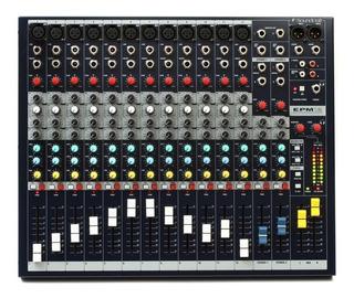 Consola De Audio 12 Canales (envio Gratis) Epm12 Soundcraft