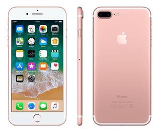 iPhone 7 Plus 32gb Ouro Rosa Anatel Lacrado Nota Fiscal