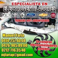 Reparacion De Electroventiladores Fan Y Afines