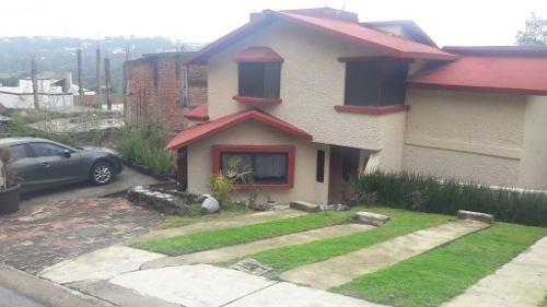 Casa Preciosa En Renta Con Vista A Los Ranchos De Sayavedra, Ciudad Satelite