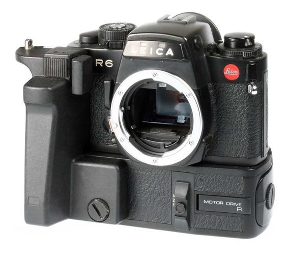 Câmera Analógica 35mm Leica R6 Corpo Com Motor Drive R