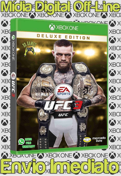 Ufc 3 Ed. Deluxe Xbox One Digital Off-line