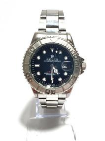 Relógio Rolex De Aço Oyster Perpetual Date Prata