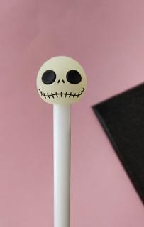 Pluma Jack Skellington Brilla En La Oscuridad Gel Halloween
