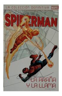 Spiderman Colección Definitiva Nº 24 La Araña Y La Llama