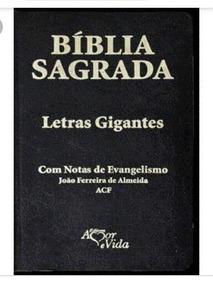 Biblia Sagrada Letras Gigantes