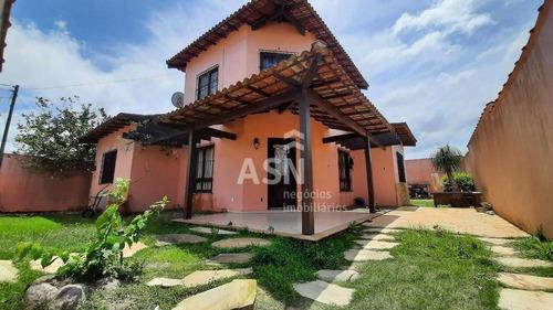 Casa Duplex De 3 Quartos E Piscina Pertinho Da Praia, Enseada Das Gaivotas, Rio Das Ostras - Ca0627