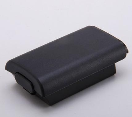 2 Suporte De Pilhas Controle Xbox 360 Tampa De Bateria Preta