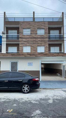 Cobertura Com 2 Dormitórios À Venda, 102 M² Por R$ 340.000,00 - Jardim Ana Maria - Santo André/sp - Co1091
