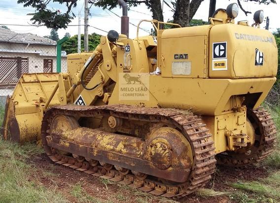 Carregadeira De Esteira Caterpillar 941b - Ano 1979