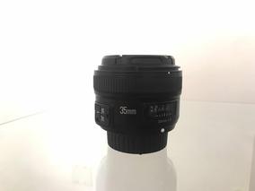 Lente Yongnuo 35mm F/2.0 (p/ Nikon)