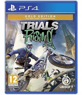Trials Rising Gold Ps4 Juego Nuevo Blu-ray Físico Sellado
