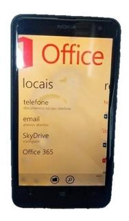 Nokia Lumia 625 - 5mp, 4g, Wi-fi, Gps, Mancha Na Tela