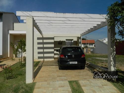 Casa Com 3 Dormitórios À Venda, 110 M² Por R$ 580.000,00 - Condomínio Aldeia De España - Itu/sp - Ca0215