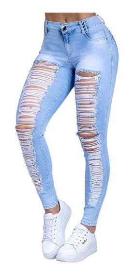 Calça Feminina Pit Bull Pitbull Pit Bul Jeans Original