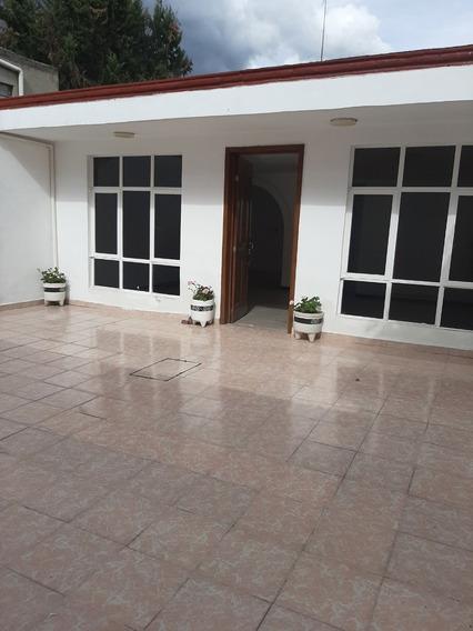 Casa 1 Nivel En Xochimilco Ampliacion Tepepan