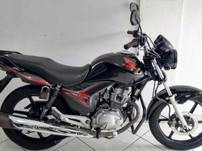 Honda Cg 150 Fan Esdi Flex 2013 Preta