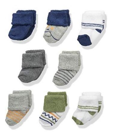 Calcetines De Bebé Luvable Friends Unisex Estilo 9 Pps