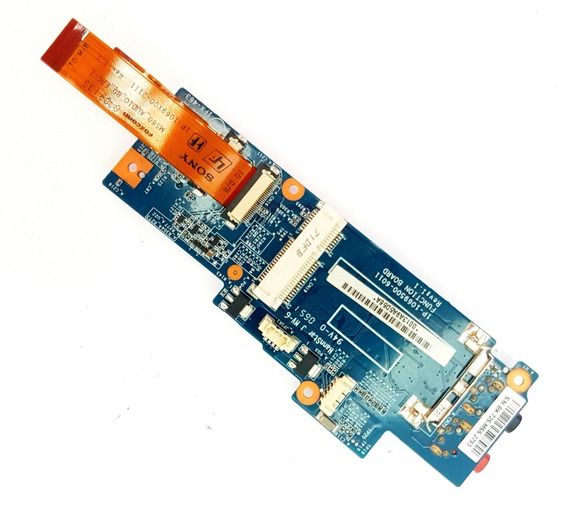Placa De Som Sony Pcg-6r3l 1p-1069500-6011 Garantia
