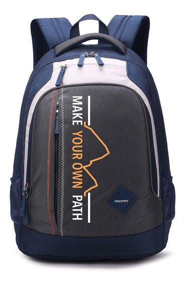 Mochila Discovery Backpack Gris
