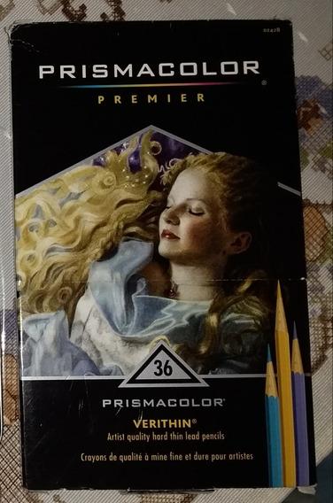 Vendo Lápis De Cor Profissional Prismacolor 36 Cores