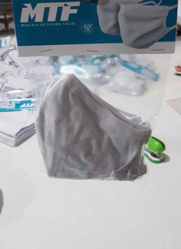 Máscaras (kit Com 5 Unid) Em Tecido(pedido Mínimo 10 Kits)