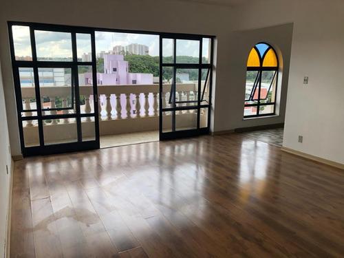 Apartamento Com 3 Dormitórios Para Alugar, 187 M² Por R$ 2.052,00/mês - Centro - Valinhos/sp - Ap0050