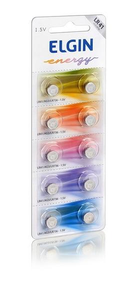 4 Cartelas Baterias Alcalina Sendo (lr41/lr44/ag10/cr2032)