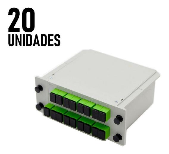 Kit 20 Und Splitter Modular 1x16 Sc/apc