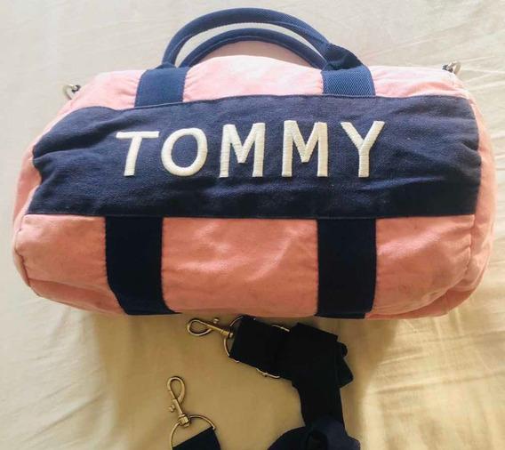Bolso Tommy Hilfiger, Rosa, Para Mujer/ Niña