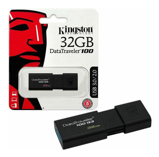 Pendrive Kingston De 32gb 2.0/3.0