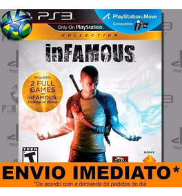 Jogo Ps3 Infamous Collection Psn Play 3 Mídia Digital