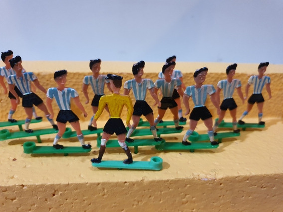 Antiguo Adorno De Torta Equipo Futbol Portavela Argentina